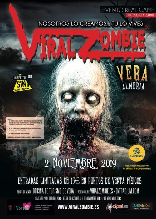 ENTRADAS VIRAL ZOMBIE 2 NOVIEMBRE VERA (ALMERÍA)