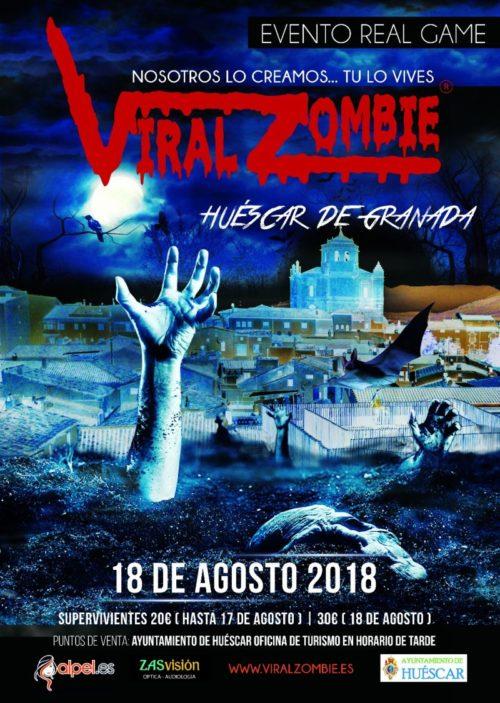 ENTRADAS VIRAL ZOMBIE 18 AGOSTO 2018 HUESCAR (GRANADA)